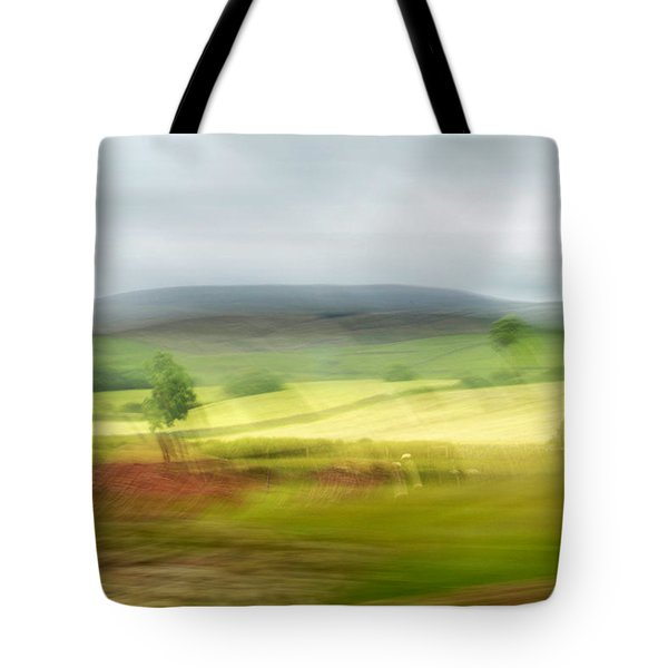 heading north of Yorkshire to Lake District - UK 1 Tote Bag
