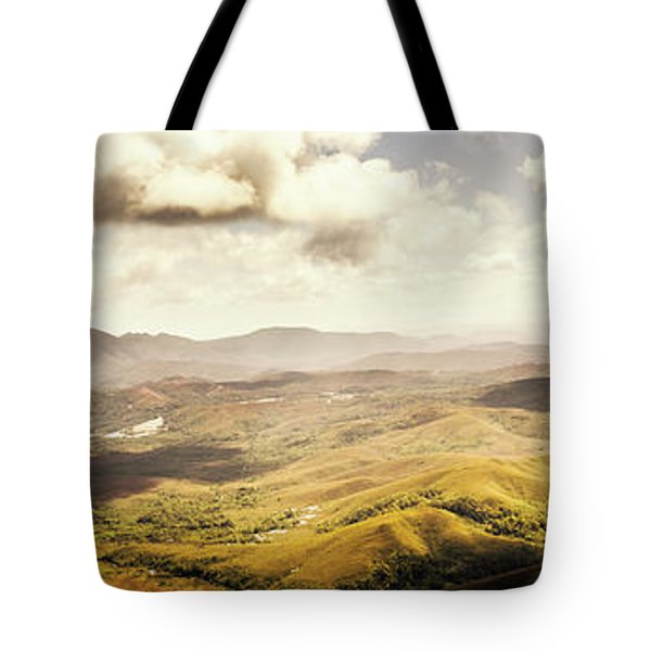 From Zeehan To Trial Harbour Tote Bag