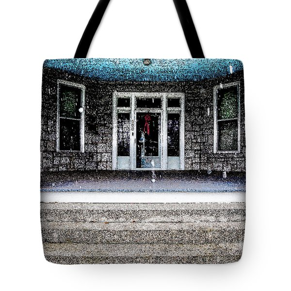 Tote Bag featuring the photograph Front Door by Randy Sylvia