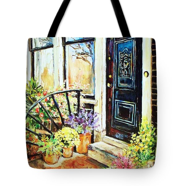 Front Porch Tote Bag