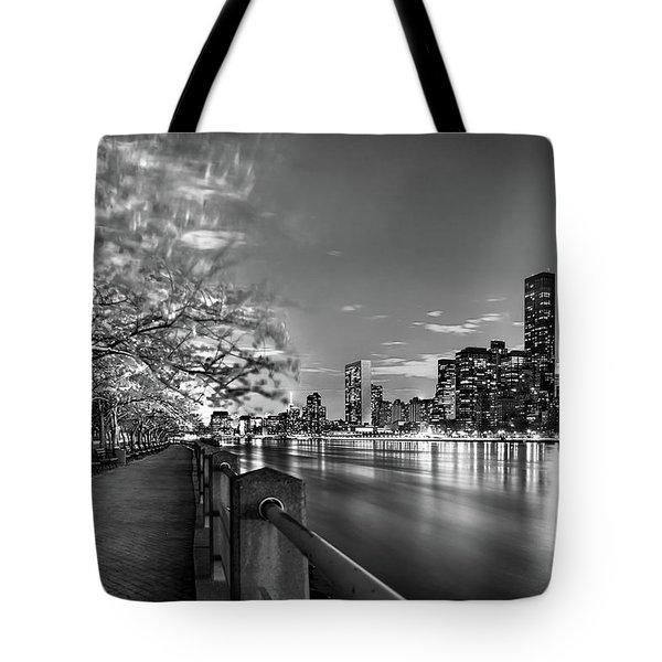 Front Row Roosevelt Island Tote Bag by Az Jackson