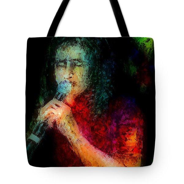 Frontman Tote Bag by Arline Wagner
