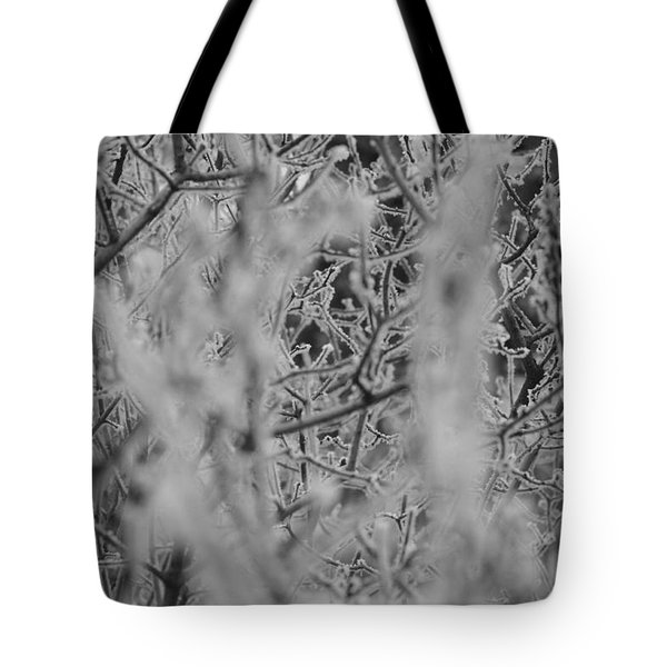 Tote Bag featuring the photograph Frost 2 by Antonio Romero
