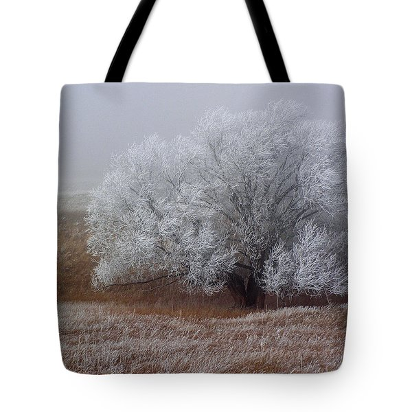 Frost And Fog Tote Bag