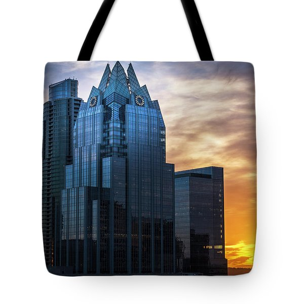 Frost Bank Tower Tote Bag