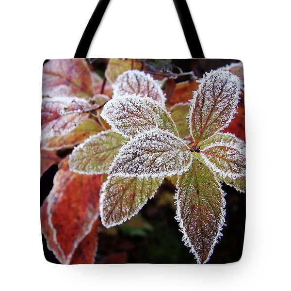 Frost Cluster Tote Bag