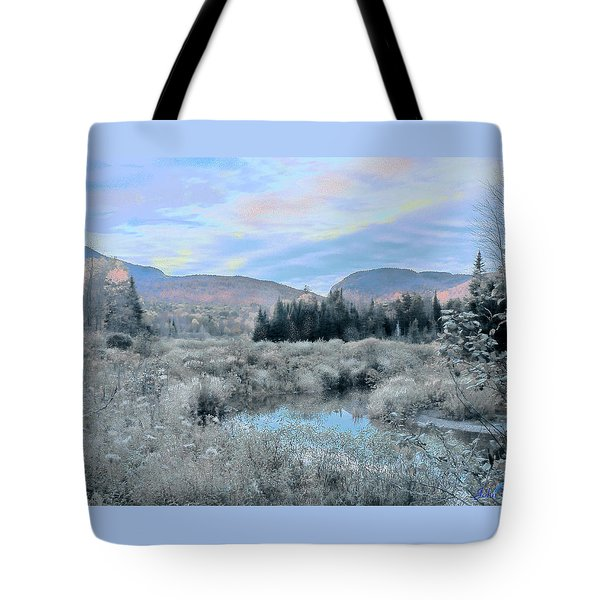 Frost On The Bogs Tote Bag