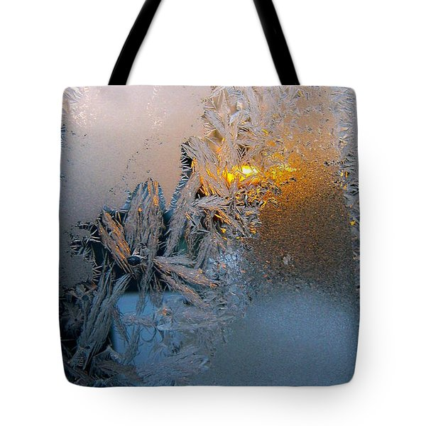 Frost Warning Tote Bag