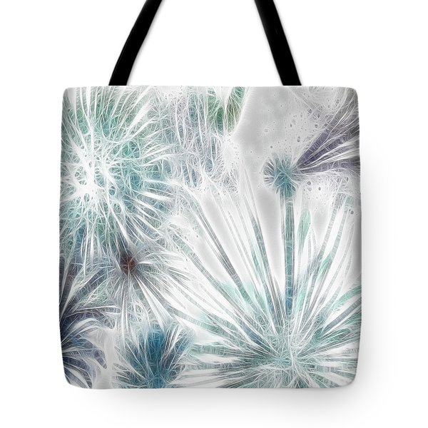 Frosted Abstract Tote Bag by Methune Hively