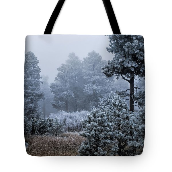 Frosted Tote Bag by Alana Thrower