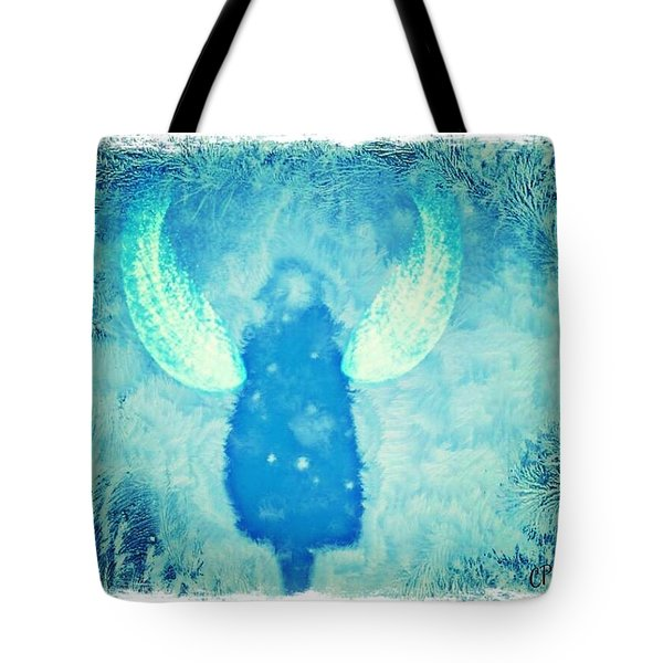 Frosted Angel Tote Bag