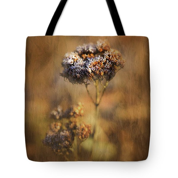 Frosted Bloom Tote Bag