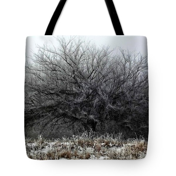 Frosted Elm Tote Bag