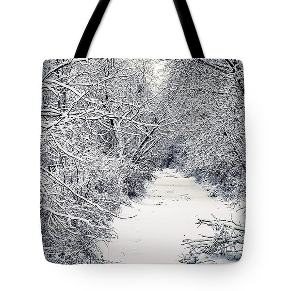 Frosted Feeder Tote Bag