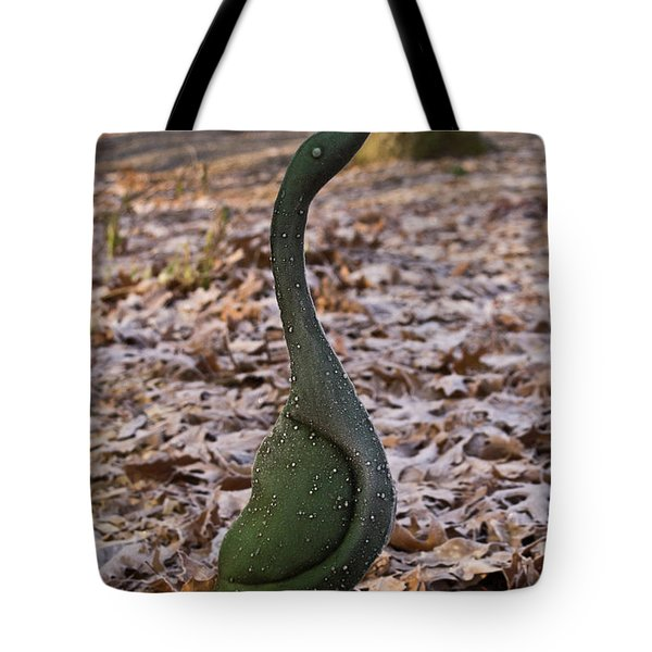 Frosted Goose Tote Bag