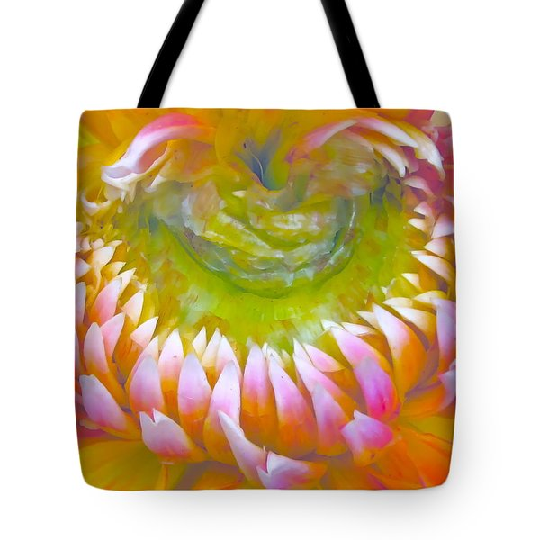 Frosted Tote Bag by Gwyn Newcombe