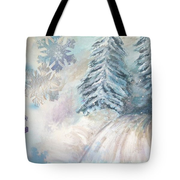 Frosted Secrets Of Winter Tote Bag