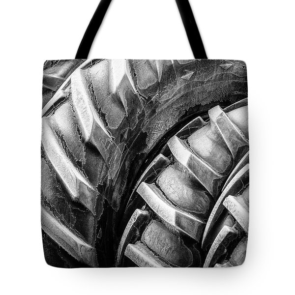 Frosted Tires Tote Bag