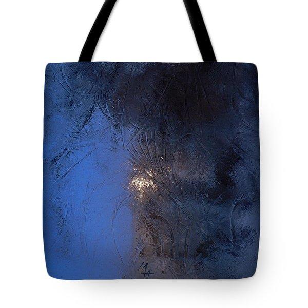 Frostwork - Engraved Night Tote Bag