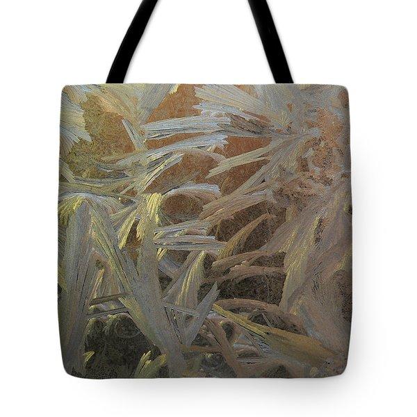 Frostwork - White Jungle Tote Bag