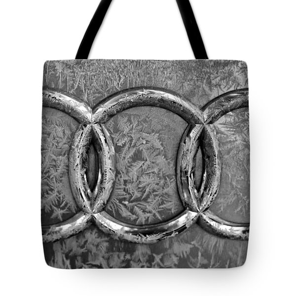 Frosty Audi Tote Bag by Catherine Melvin