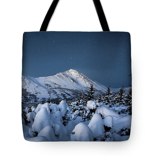 Frosty False Omalley C Tote Bag