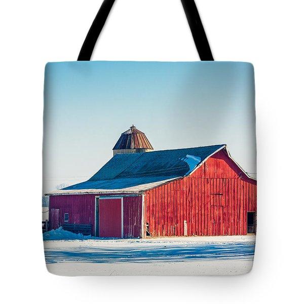 Frosty Farm Tote Bag