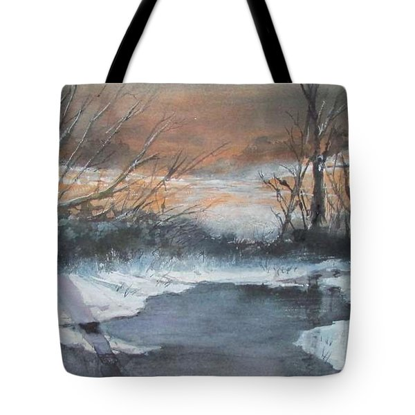 Frosty Morn. Tote Bag