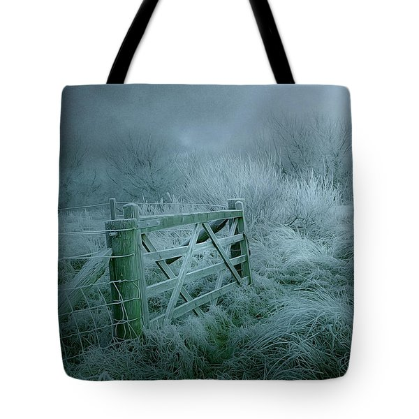 Frosty Night Tote Bag