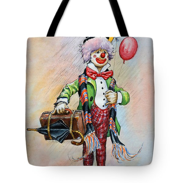 Frosty The Clown Tote Bag