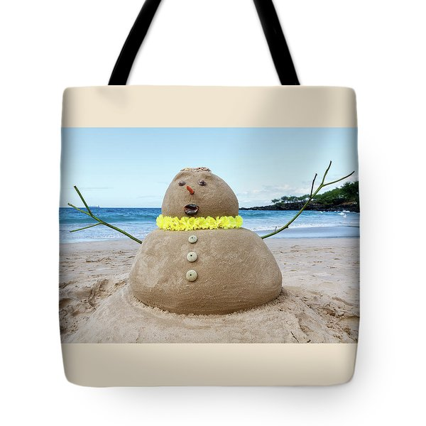 Frosty The Sandman Tote Bag