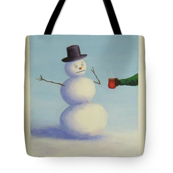 Frosty's Nightmare I Tote Bag