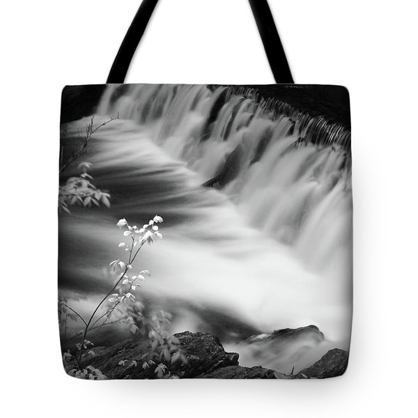 Frothy Falls Tote Bag