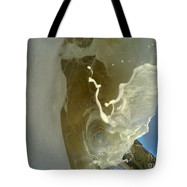 Frothy Tendrils  Tote Bag