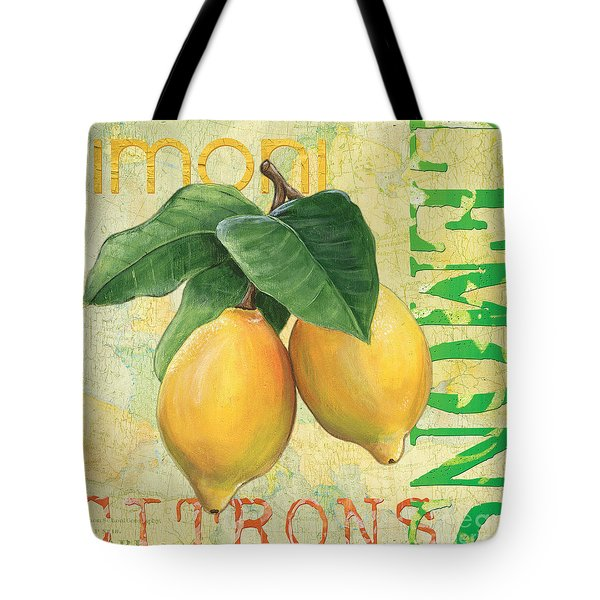 Froyo Lemon Tote Bag by Debbie DeWitt