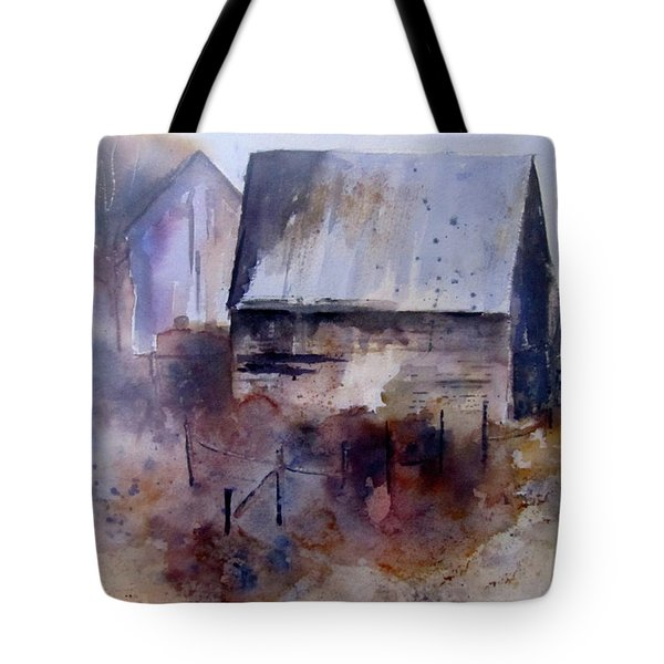 Frozen Barn Tote Bag