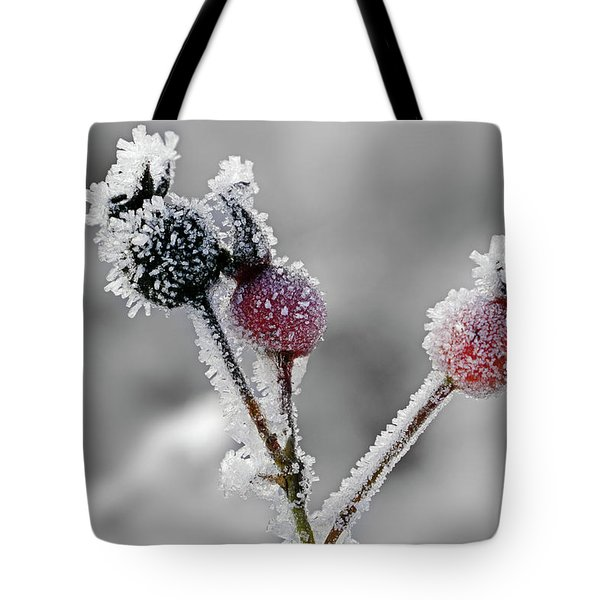Frozen Buds Tote Bag