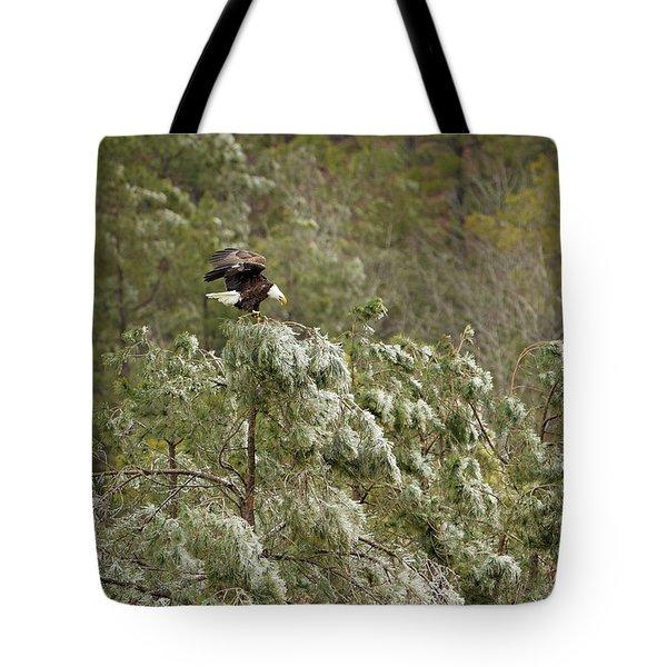 Frozen Call Tote Bag