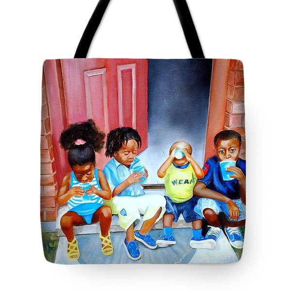 Frozen Cups Tote Bag