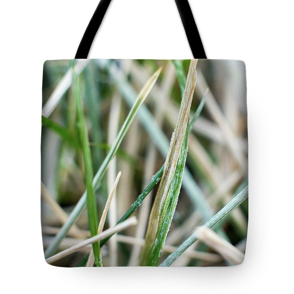 Frozen Grass Tote Bag