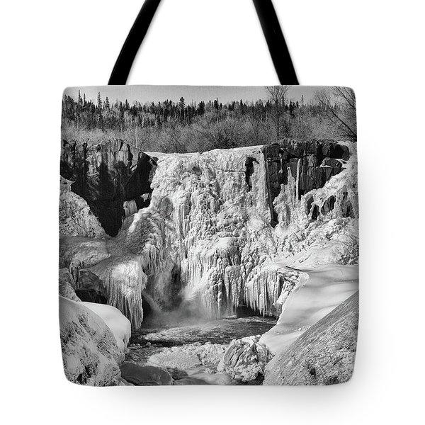 Frozen High Falls Tote Bag