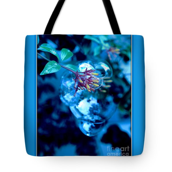 Frozen In Time Tote Bag by Irma BACKELANT GALLERIES
