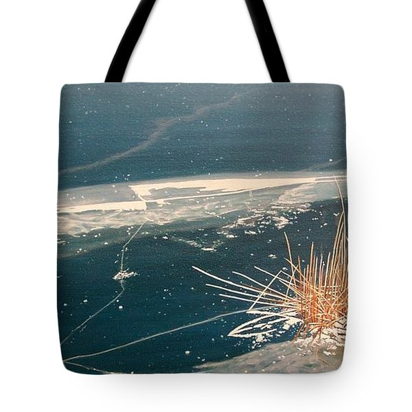 Frozen In Time Tote Bag by Kenneth M  Kirsch