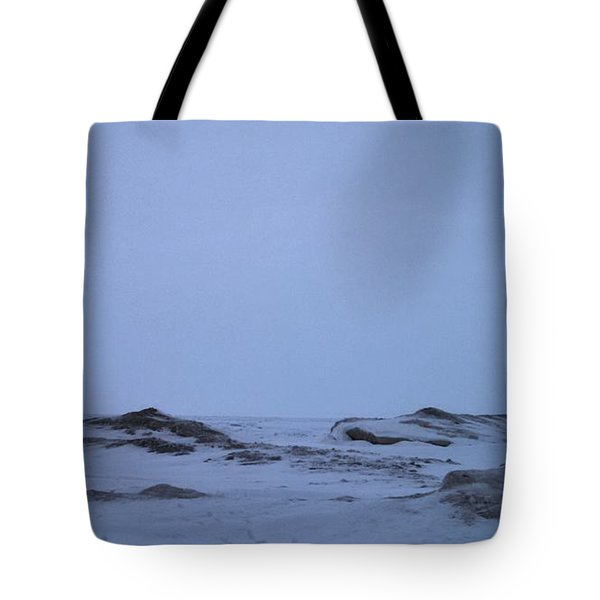 Frozen Lake Erie Tote Bag