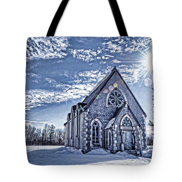 Frozen Land Tote Bag by Alana Ranney
