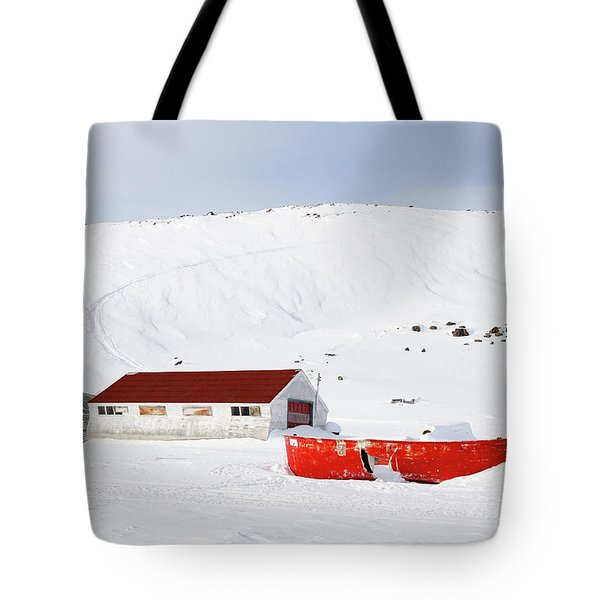 Frozen Life Tote Bag by Nick Mares