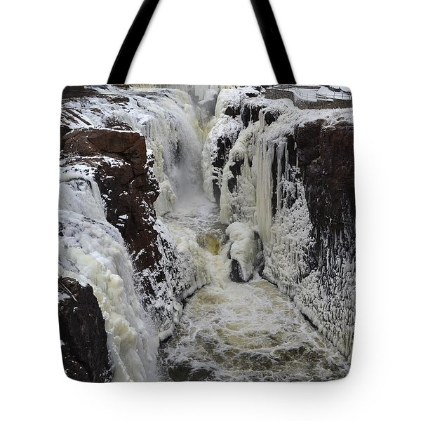 Frozen Paterson Falls Tote Bag