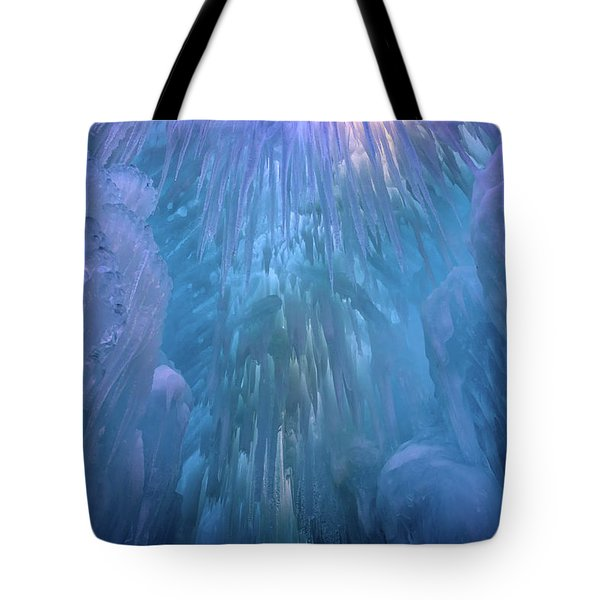 Tote Bag featuring the photograph Frozen by Rick Berk