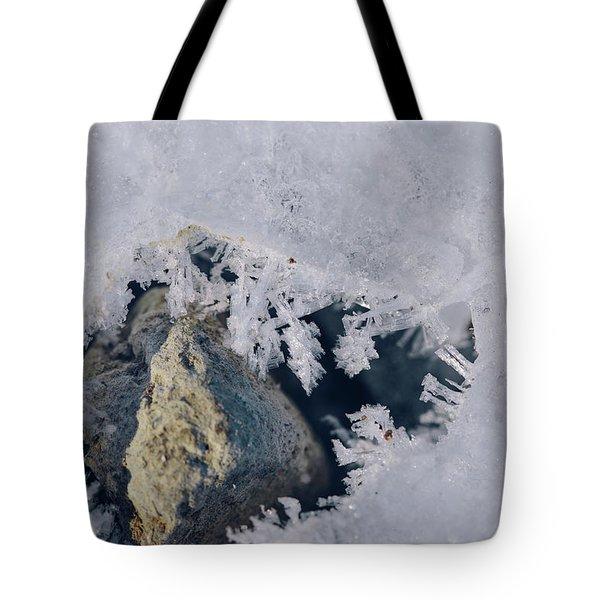 Frozen Rock Tote Bag