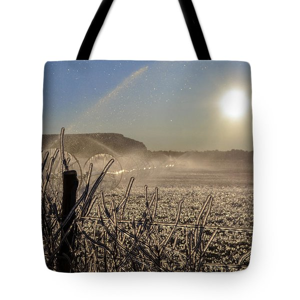 Frozen Sunrise Tote Bag